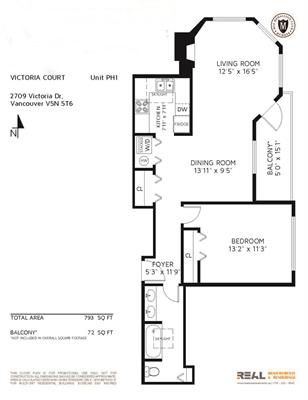 Photo 16: PH1 2709 VICTORIA DRIVE in Vancouver: Grandview VE Condo for sale (Vancouver East)  : MLS®# R2120662