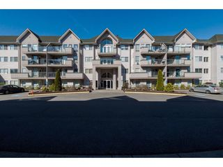 "Main Photo: 212 33738 KING Road in Abbotsford: Poplar Condo for sale in ""College Park Place"" : MLS®# R2389470"