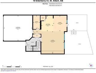 Photo 44: 19 ELDERBERRY Court: St. Albert House for sale : MLS®# E4224647