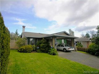Photo 1: 1222 Alan Rd in VICTORIA: SW Layritz House for sale (Saanich West)  : MLS®# 637712