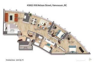 Photo 20: 3802 938 NELSON STREET in Vancouver: Downtown VW Condo for sale (Vancouver West)  : MLS®# R2260920
