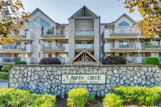 "Photo 1: 206 33478 ROBERTS Avenue in Abbotsford: Central Abbotsford Condo for sale in ""Aspen Creek"" : MLS®# R2403357"