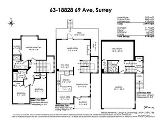 """Photo 20: 63 18828 69 Avenue in Surrey: Clayton Townhouse for sale in """"STARPOINT"""" (Cloverdale)  : MLS®# R2436443"""