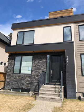 Main Photo: 2418 24A Street SW in Calgary: Richmond Semi Detached for sale : MLS®# A1060026