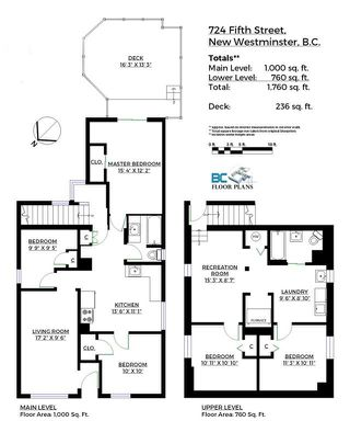Photo 20: 724 FIFTH STREET in New Westminster: GlenBrooke North House for sale : MLS®# R2143580