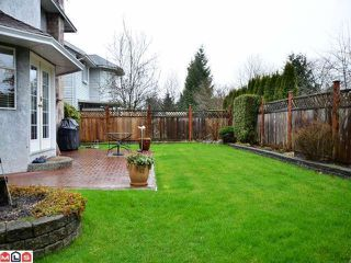 "Photo 9: 9291 158TH Street in Surrey: Fleetwood Tynehead House for sale in ""BEL-AIR ESTATES"" : MLS®# F1204654"