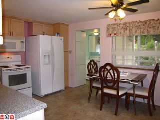 """Photo 2: 131 3031 200TH Street in Langley: Brookswood Langley Manufactured Home for sale in """"Cedar Creek Estates"""" : MLS®# F1226299"""