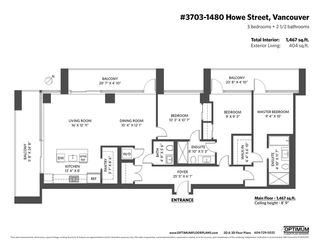 "Photo 40: 3703 1480 HOWE Street in Vancouver: Yaletown Condo for sale in ""Vancouver House"" (Vancouver West)  : MLS®# R2527999"