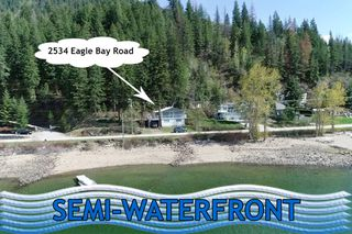 Main Photo: 2534 Eagle Bay Road in Eagle Bay: Blind Bay House for sale (Shuswap)  : MLS®# 10181818