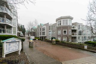 """Main Photo: 102 8460 JELLICOE Street in Vancouver: South Marine Condo for sale in """"BOARDWALK"""" (Vancouver East)  : MLS®# R2432966"""