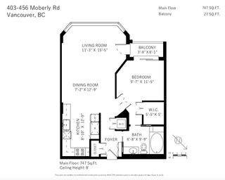 """Photo 16: 403 456 MOBERLY Road in Vancouver: False Creek Condo for sale in """"Pacific Cove"""" (Vancouver West)  : MLS®# R2470128"""