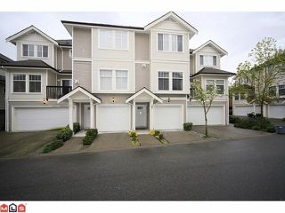 """Photo 1: 12 21535 88TH Avenue in Langley: Walnut Grove Townhouse for sale in """"REDWOOD LANE"""" : MLS®# F1210891"""