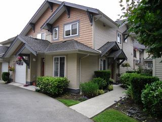 "Photo 1: # 24 5839 PANORAMA DR in Surrey: Sullivan Station Townhouse for sale in ""FOREST GATE"" : MLS®# F1308334"