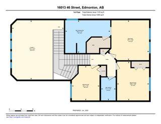 Photo 45: 16013 46 Street in Edmonton: Zone 03 House for sale : MLS®# E4199853
