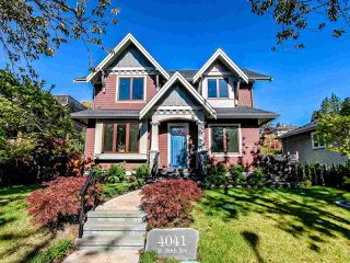 Photo 1: 4041 W 36TH Avenue in Vancouver: Dunbar House for sale (Vancouver West)  : MLS®# R2511468