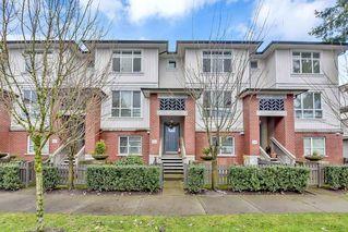 "Photo 1: 35 8355 164 Street in Surrey: Fleetwood Tynehead Townhouse for sale in ""Silverwood"" : MLS®# R2524429"