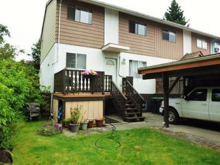 Photo 1: 1301 UNA WY in Port Coquitlam: Mary Hill Townhouse for sale ()  : MLS®# V972573