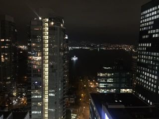 Main Photo: 1188 West Pender Street in Vancouver: Coal Harbour Condo for rent (Vancouver West)