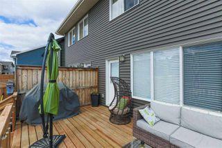 Photo 24: 462 ORCHARDS Boulevard in Edmonton: Zone 53 House Half Duplex for sale : MLS®# E4193854