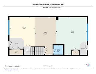 Photo 26: 462 ORCHARDS Boulevard in Edmonton: Zone 53 House Half Duplex for sale : MLS®# E4193854