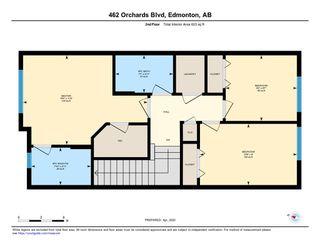 Photo 27: 462 ORCHARDS Boulevard in Edmonton: Zone 53 House Half Duplex for sale : MLS®# E4193854