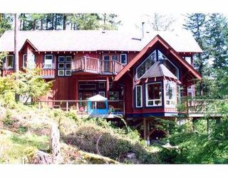 Photo 1: 1384 FERNIE Road: Bowen Island House for sale : MLS®# V588097