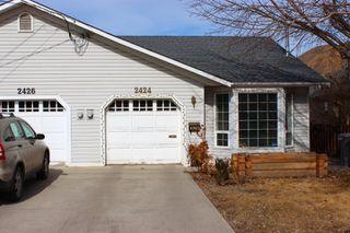 Main Photo: 2424 Greenfield Avenue in : Brocklehurst House 1/2 Duplex for sale (Kamloops)  : MLS®# 121269