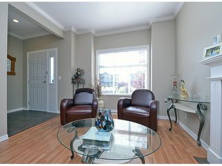 "Photo 3: 121 33751 7TH Avenue in Mission: Mission BC Townhouse for sale in ""Heritage Park Place"" : MLS®# F1418910"