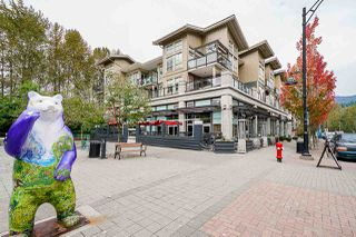 Photo 1: 111 101 MORRISSEY ROAD in Port Moody: Port Moody Centre Condo for sale : MLS®# R2410630