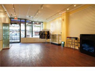 Photo 4: 2676 W 4TH Avenue in VANCOUVER: Kitsilano Commercial for sale (Vancouver West)  : MLS®# V4034835
