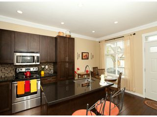"""Photo 5: 8 6956 193RD Street in Surrey: Clayton Townhouse for sale in """"EDGE"""" (Cloverdale)  : MLS®# F1320689"""