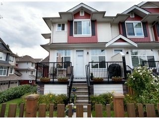 """Photo 1: 8 6956 193RD Street in Surrey: Clayton Townhouse for sale in """"EDGE"""" (Cloverdale)  : MLS®# F1320689"""