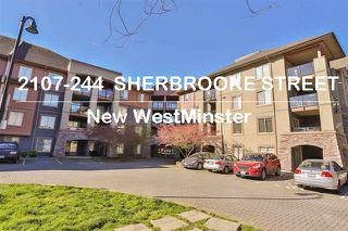 Main Photo: 2107 244 Sherbrooke in New Westminster: Condo for sale : MLS®# R2117173