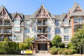 "Main Photo: 321 17769 57 Avenue in Surrey: Cloverdale BC Condo for sale in ""Cloverdowns Estates"" (Cloverdale)  : MLS®# R2397684"