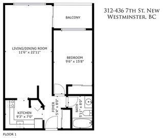 """Photo 20: 312 436 SEVENTH Street in New Westminster: Uptown NW Condo for sale in """"Regency Court"""" : MLS®# R2399595"""