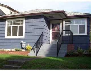 Main Photo: 377 E 60TH AV in Vancouver: South Vancouver House for sale (Vancouver East)  : MLS®# V563165