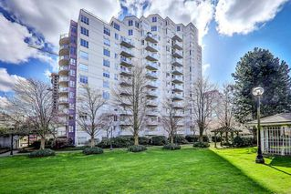 "Photo 1: 806 3455 ASCOT Place in Vancouver: Collingwood VE Condo for sale in ""QUEEN COURT"" (Vancouver East)  : MLS®# R2445235"