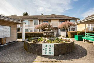 """Photo 2: 232 5641 201 Street in Langley: Langley City Townhouse for sale in """"THE HUNTINGTON"""" : MLS®# R2461702"""
