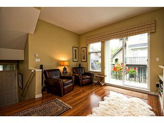 "Photo 4: 752 ORWELL Street in North Vancouver: Lynnmour Townhouse for sale in ""WEDGEWOOD"" : MLS®# V1016804"