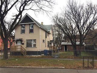 Photo 1: 122 Aikins Streets in Winnipeg: Duplex for sale (4A)  : MLS®# 1910102