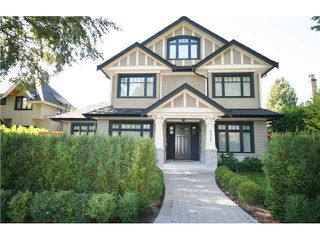 Photo 1: 6929 WILTSHIRE Street in Vancouver: South Granville House for sale (Vancouver West)  : MLS®# V1007827
