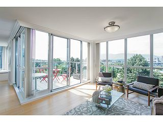 Photo 2: # 605 1425 W 6TH AV in Vancouver: False Creek Condo for sale (Vancouver West)  : MLS®# V1123707
