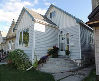 Photo 1: 649 Bannerman Avenue in Winnipeg: Residential for sale (4C)  : MLS®# 1922640