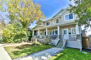 Photo 1: 10205 152 Street in Edmonton: Zone 21 House Half Duplex for sale : MLS®# E4174520