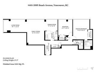 "Photo 19: 401 2095 BEACH Avenue in Vancouver: West End VW Condo for sale in ""BEACH PARK"" (Vancouver West)  : MLS®# R2436465"