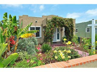 Photo 1: NORTH PARK House for sale : 2 bedrooms : 4245 Cherokee Avenue in San Diego