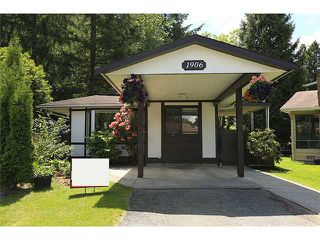 Photo 1: 1906 LODGE PL in Coquitlam: River Springs House for sale : MLS®# V1010766