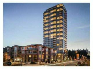 Photo 1: # 1207 3102 WINDSOR GT in Coquitlam: New Horizons Condo for sale : MLS®# V1053867