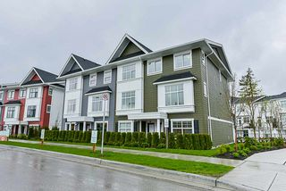 "Main Photo: 25 27735 ROUNDHOUSE Drive in Abbotsford: Aberdeen Townhouse for sale in ""Roundhouse"" : MLS®# R2437533"