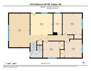 Photo 29: 416 HUNTBOURNE Hill NE in Calgary: Huntington Hills Detached for sale : MLS®# C4299383